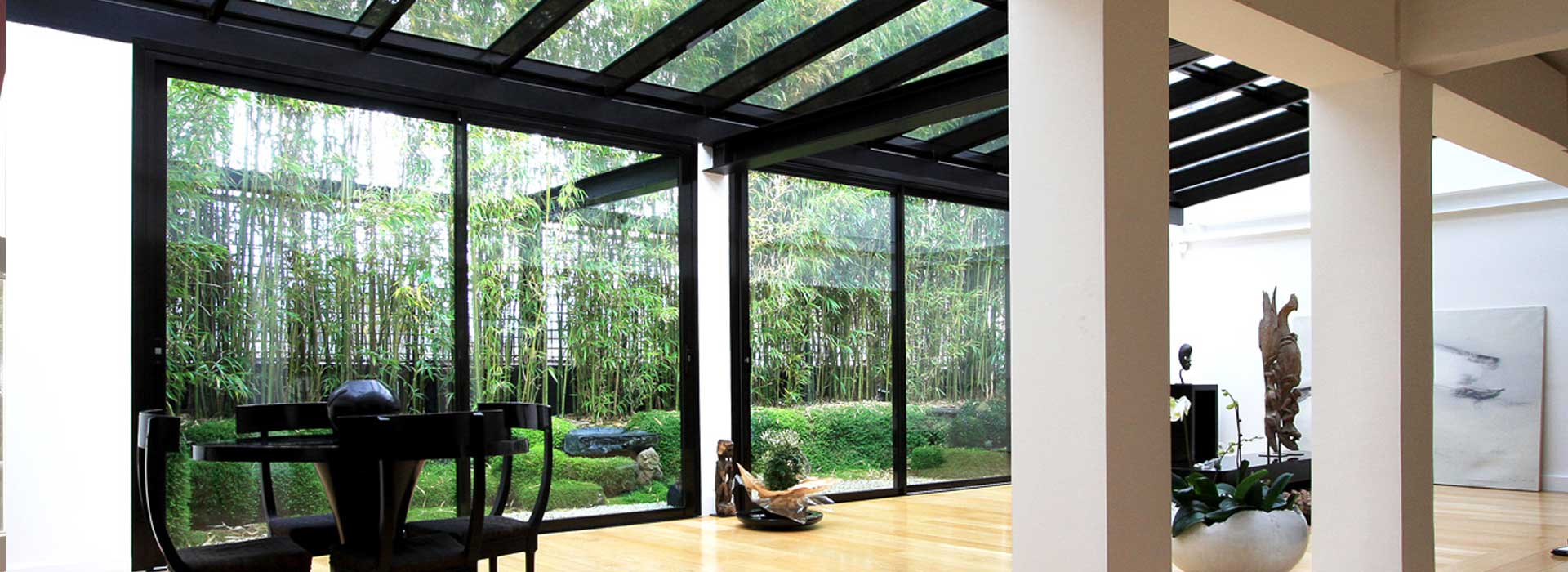 v randa design une nouvelle extension de maison. Black Bedroom Furniture Sets. Home Design Ideas