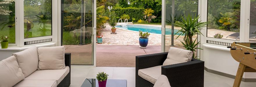 veranda de terrasse
