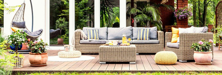 adapter son salon de jardin à son espace